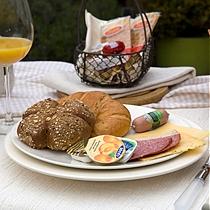 Uitgebreid ontbijt Ontbijtmenu's