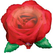 Grote Rode Roos Ballon
