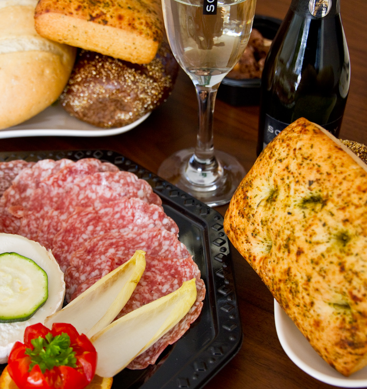 Italiaans ontbijt Ontbijtmenu's