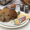 Vegetarisch ontbijt Ontbijtmenu's