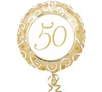 50 Jaar Getrouwd Gold Ballonnen