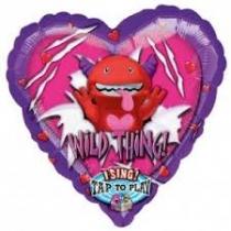 Zingende ballon Wild thing