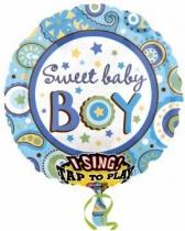 Zingende ballon It's a Boy