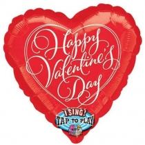 Zingende ballon Valentijnsdag