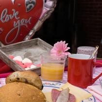 Romantische Ontbijt