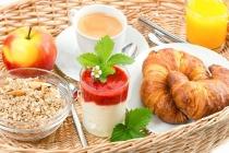 Frans ontbijt Ontbijtmenu's