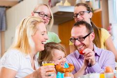 Familie ontbijt Ontbijtmenu's