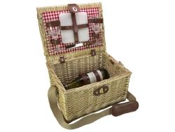 Picknickmand 2 persoons Cadeau Eten & drinken>Kado-ideeën