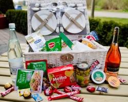 Biologische Picknickmand Picknicktime!