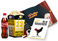 Pathé All-in voucher Cadeau Eten & drinken>Kadobonnen