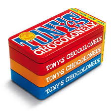 Tony Chocolonely Stapel Blik