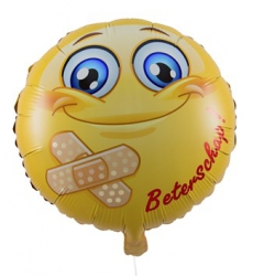 Ballon Happy Birthday Emoji Ballonnen
