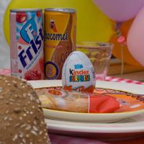 Kinder ontbijt Ontbijtmenu's